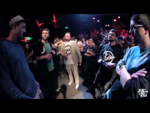 DLTLLY // Rap Battle // Salo + Bust Art VS Kaliba + Breezy