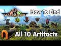 ARK VALGUERO Artifacts How to Get All 10 Valguero Artifacts!