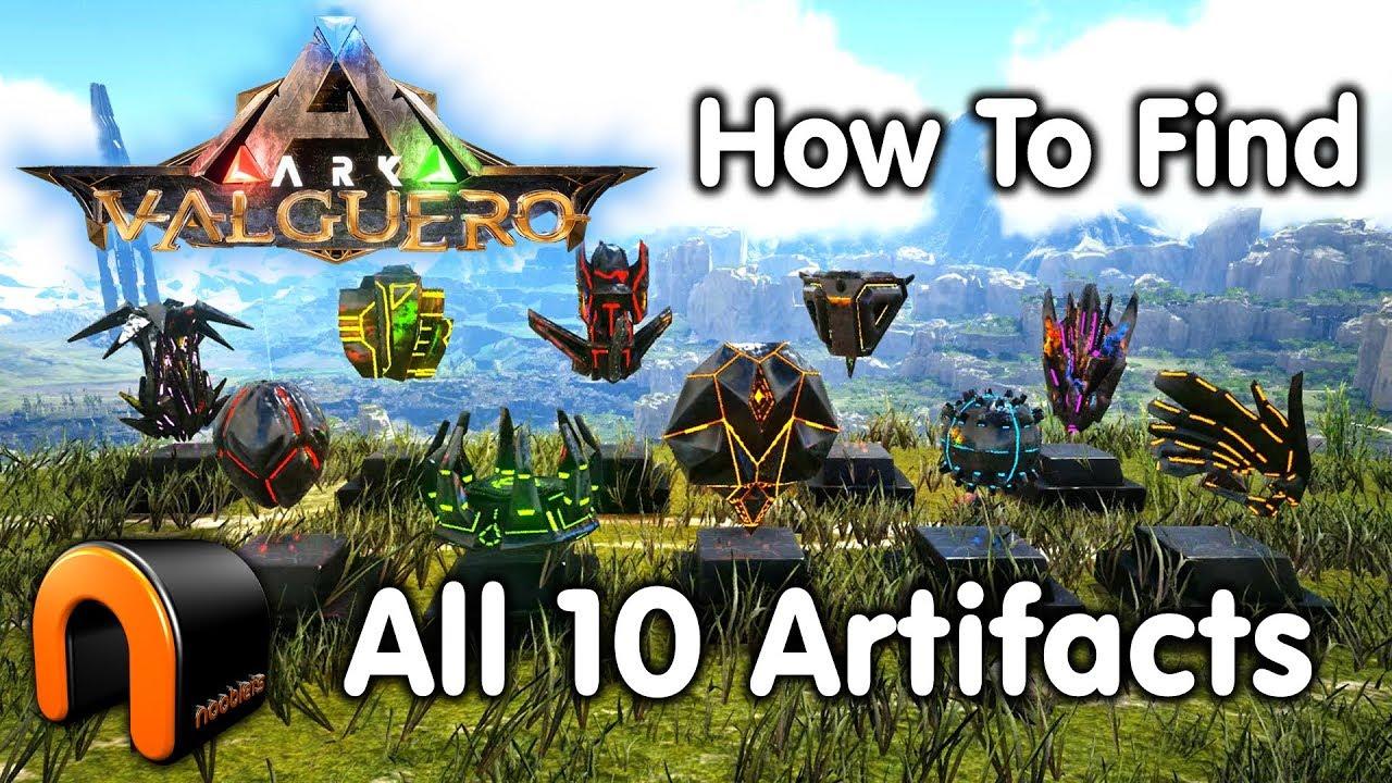 Ark Karte Valguero.Ark Valguero Artifacts How To Get All 10 Valguero Artifacts