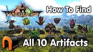 ARK VALGUERO Artifacts How to Get All 10 Valguero Artifacts