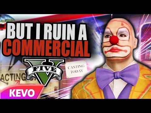 GTA V RP but I ruin a commercial