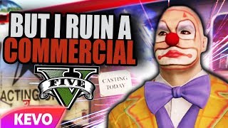 GTA V RP but I ruin a commercial