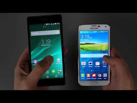 Vídeo: Galaxy S5 x Xperia Z2