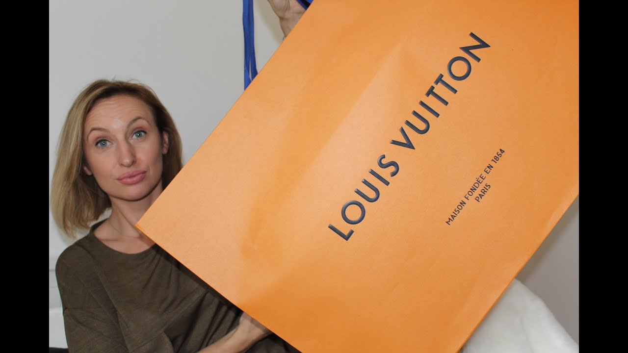 5b88d404cb6f LOUIS VUITTON UNBOXING - YouTube