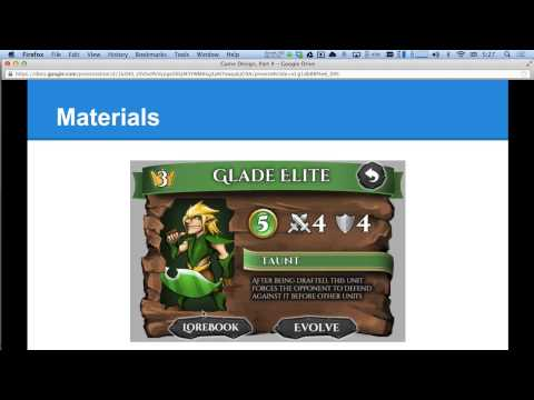 Game Design Class, Part 4: Dramatic & Aesthetic Elements