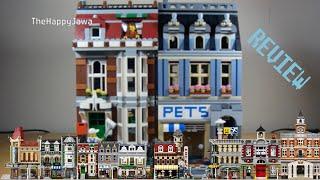 Lego Modular Building - Pet Shop 10218 - 2011 Modular Building Review