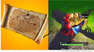 trésor secret dans Fortnite Battle Royal...