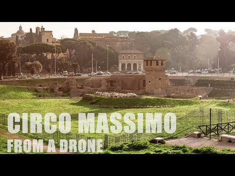 ROME: the beauty of Circus Maximus in 4K