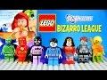 LEGO BIZARRO LEAGUE DC Comics Super Heroes MOC with Bizarro Batzarro & Bizarra Custom