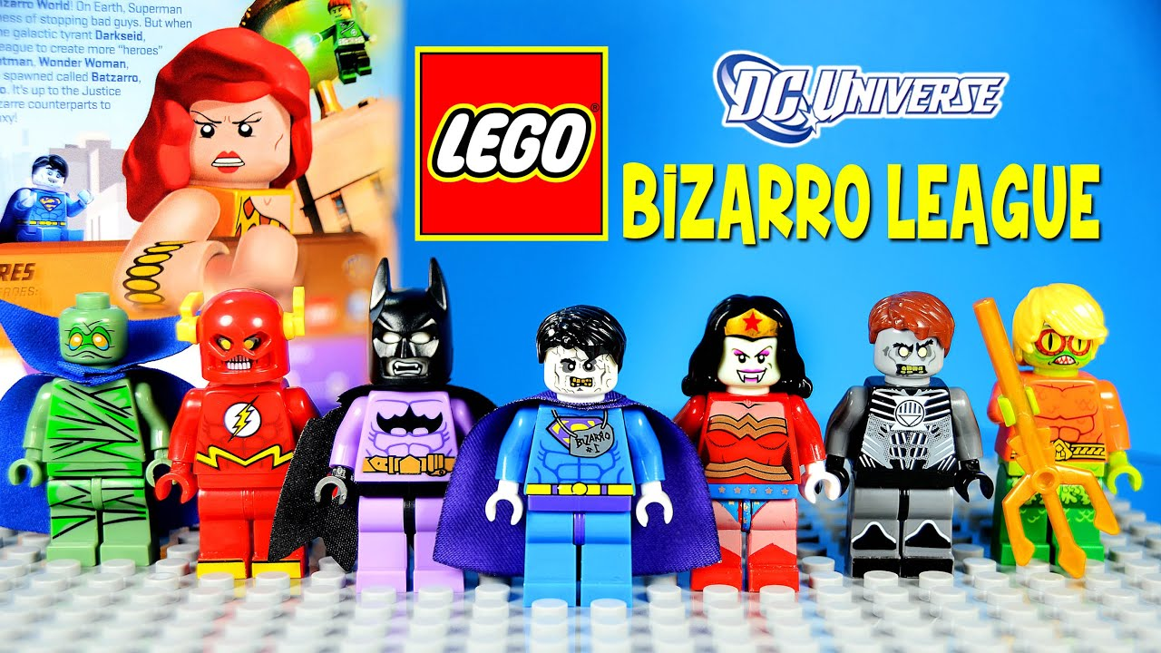 **NEW** LEGO Custom Printed BIZARRA DC Minifigure Bizarro Wonder Woman