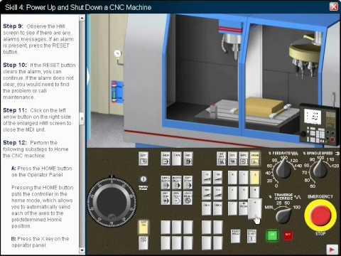 cnc machine operator program