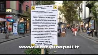 NAPOLI: Proteste al Vomero in via Luca Giordano
