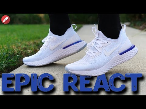 59c194ddded6e Nike Epic React White Fusion Review   On-Feet