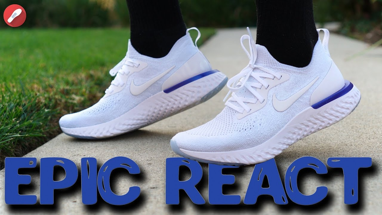 a0dc2f6e640 Nike Epic React Flyknit Review! Is It the Most Comfortable Shoe Out ...