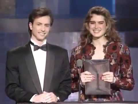 22yo Brooke Shields Presenting People's Choice Awards on March 13, 1988