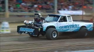 Modified 4x4 Pickup | Run What Ya Brung Truck Pull 2018 Fayette