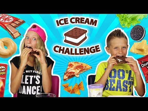 Ice-Cream Sandwich Challenge!!!!