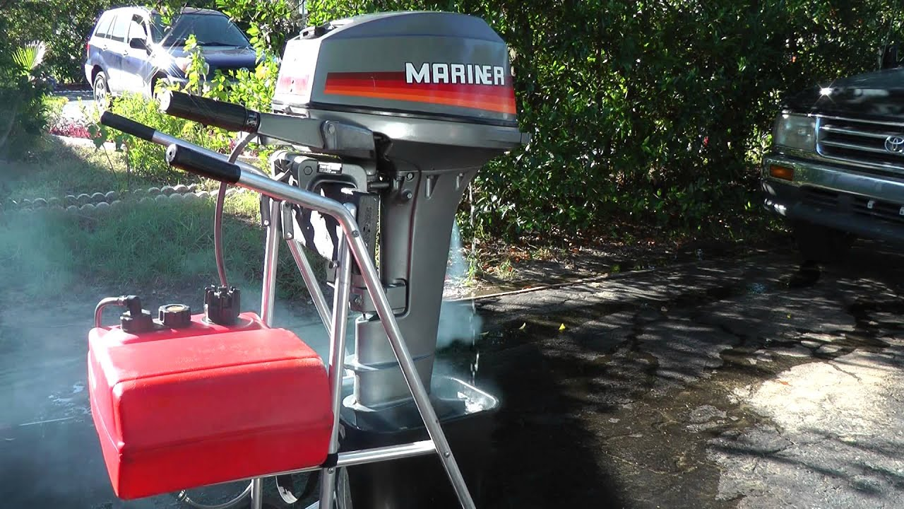 Mariner 15hp longshaft 2 stroke tiller outboard motor for 15 hp motor weight