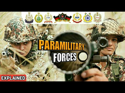 What Are India's Paramilitary Forces? | What Is Central Armed Police Forces? - Explained (Hindi)