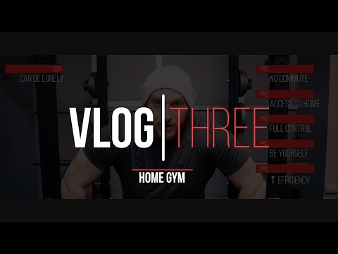 Prep for Belarus   Vlog 3   all about the home gym