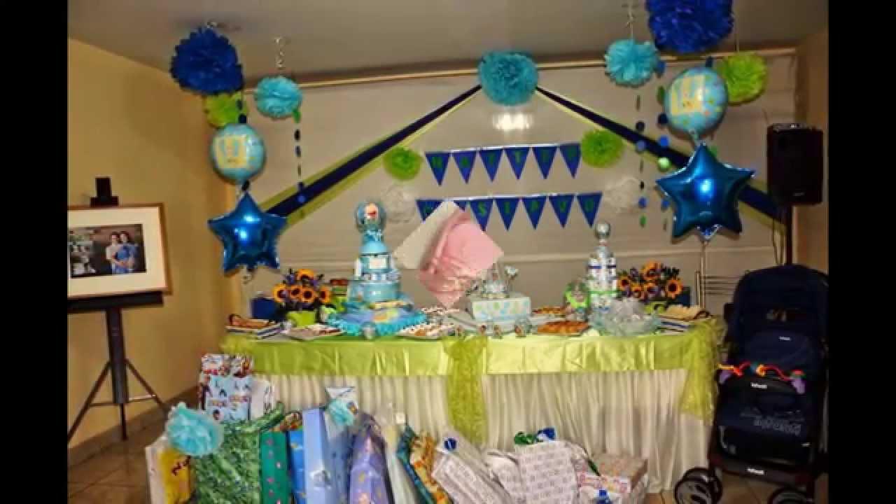 Decoraci n y detalles para tu baby shower youtube for Detalles de decoracion