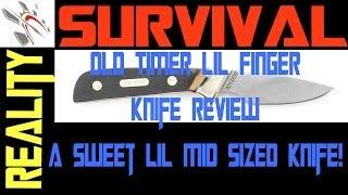 Old Timer Lil Finger Knife Review