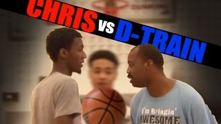 1 on 1 basketball, Game 070 (D-Train vs Chris) - V1F
