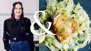 Brothy Braised Chicken Thighs with Fennel and Pernod | F&W Cooks | Food & Wine