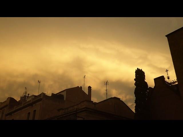 Núvols mammatus - Badalona - Setembre 2021