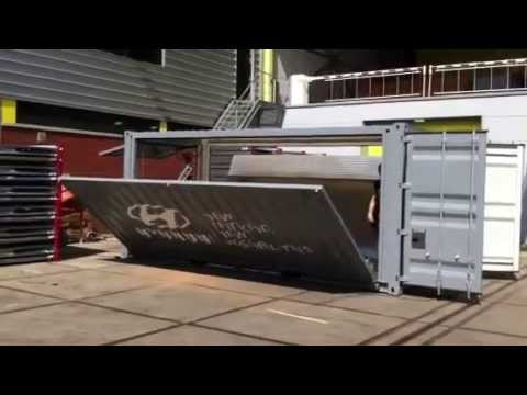 Pop Up Container Hyundai Lounge Container Container