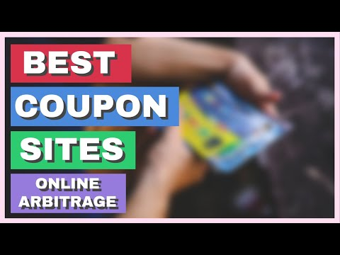 Coupon Websites For Online Arbitrage | Amazon FBA 2019