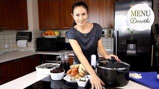 Jak zrobić tradycyjny czerwony barszcz na zakwasie? MENU Dorotki.
