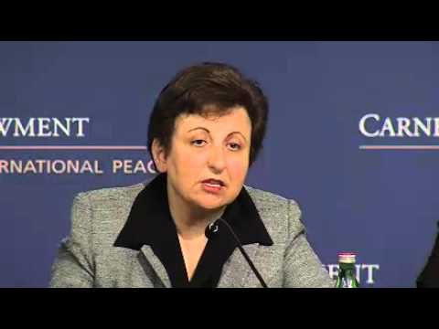 A Conversation with Iranian Nobel Peace Laureate Shirin Ebadi