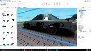 How to make a basic drift car in Roblox (re-made)