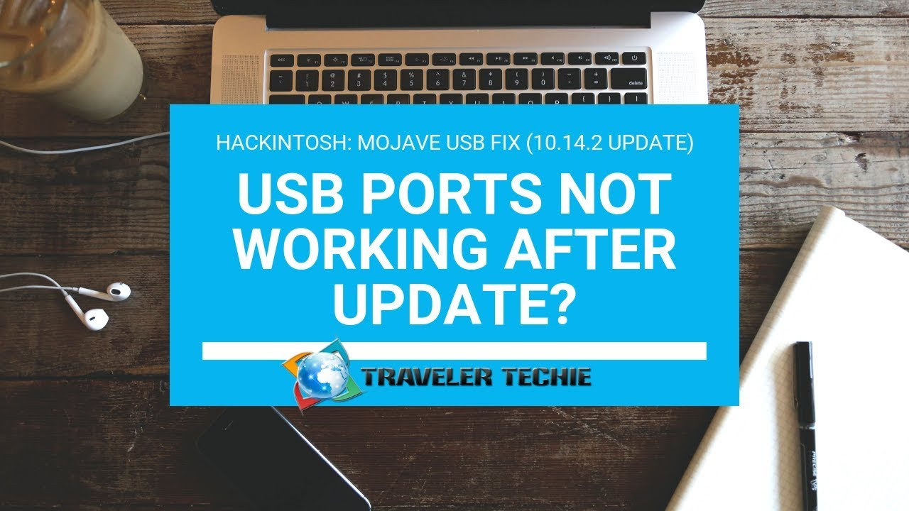 Hackintosh: USB Fix for macOS Mojave 10 14 2 Update
