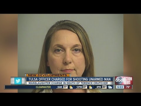 Tulsa officer charged for shooting unarmed man, released on bond