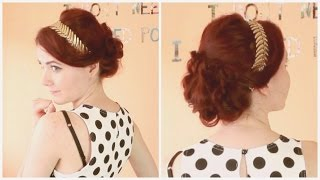 Blair Waldorf aus Gossip Girl I Wedding Frisur Tutorial I #QueenWeek Thumbnail