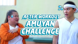 AFTER WORKOUT AMUYAN CHALLENGE | Enchong Dee