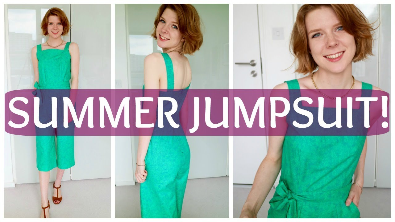 37ae0d5c936 Sew and Tell  New Look 6446 Jumpsuit! - YouTube