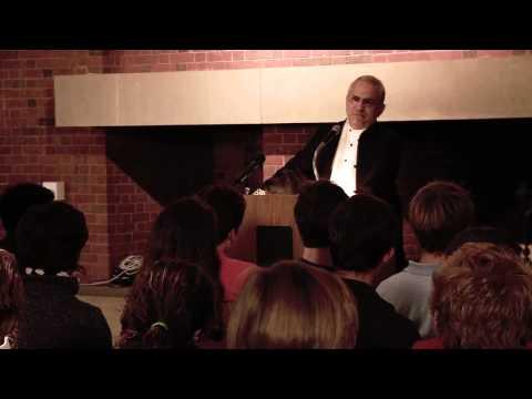 Nobel Peace Prize winner Jose Ramos Horta inspires students