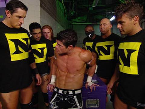 Raw: The Nexus dismantle several Raw Superstars in the locker room