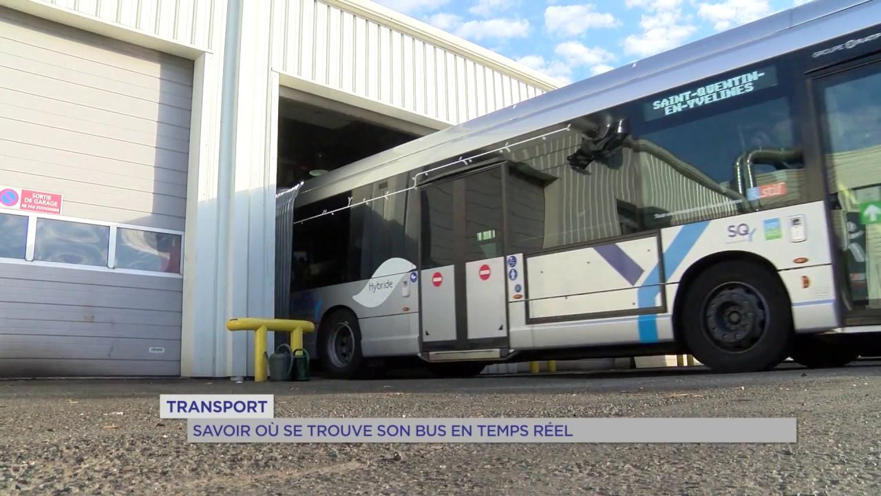 Transport : savoir où se trouve son bus en temps réel