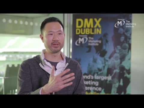 Peter Kim, Lego  - Interview @ DMX Dublin 2017