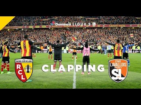 Le clapping après Lens - Laval