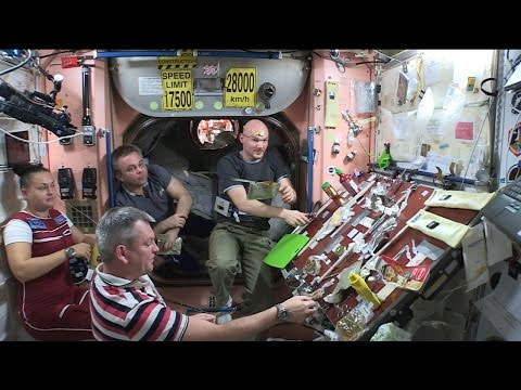 Space Station Live: Thanksgiving Feast on Orbit