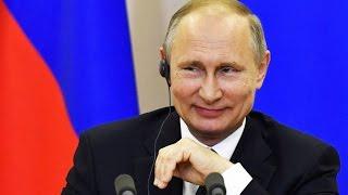 Putinin ABŞ rəsmilərini ələ salması hamını güldürdü - Mətbuat konfrasından video