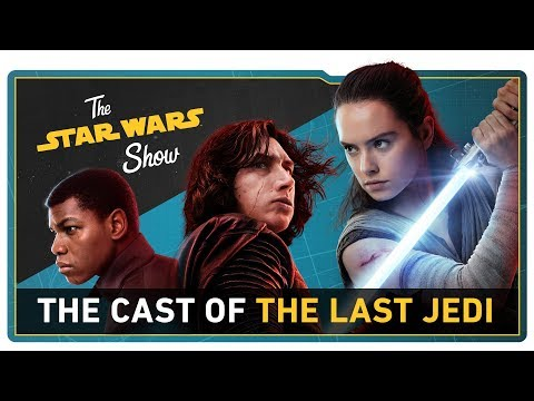 Download Youtube: We Talk with the Cast of The Last Jedi, Go to Anthony Daniels' Droid School, and More!