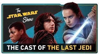 We Talk with the Cast of The Last Jedi, Go to Anthony Daniels
