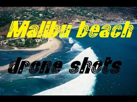MALIBU BEACH , DRONE VIDEO
