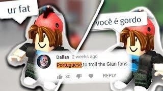 TROLLING ROBLOX IN PORTUGUESE!